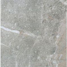 7-Pack Tirreno Gris Grey Glazed Porcelain Indoor/Outdoor Floor Tile (Common: 18-in x 18-in; Actual: 17.72-in x 17.72-in)