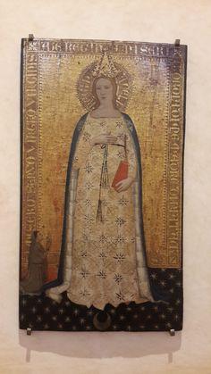 Nardo di Cione, Madonna del Parto, 1355-1360, Museo Bandini, Fiesole
