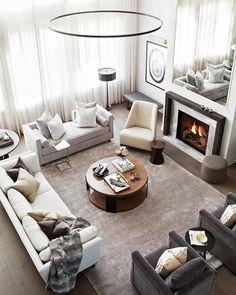 9 Experts Predict Home Design Trends Furniture Placement, Furniture Layout, Furniture Arrangement, Furniture Design, My Living Room, Living Room Interior, Living Room Furniture, Living Room Decor, Cozy Living
