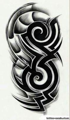 Tribal Dragon Tattoos, Tribal Shoulder Tattoos, Tribal Tattoos For Men, Tribal Sleeve Tattoos, Tattoos For Guys, Full Arm Tattoos, Fake Tattoos, Skull Tattoos, Body Art Tattoos