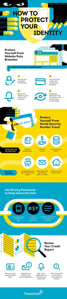 How to Protect Your #Identity? #Privacy #IdentityTheft