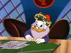 Flintheart Glomgold, DuckTales
