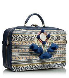 Tory's Priscilla Mochilla Suitcase: I can SO see myself traveling with this! Setting up eBay search, stat!