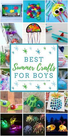 100 Best Summer Crafts for Kids