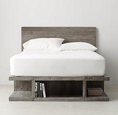 Emmett Storage Platform Bed