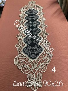 Point Lace, Cross Stitch Patterns, Diamond, Bracelets, Jewelry, Table Toppers, Couture, Crosses, Seed Stitch