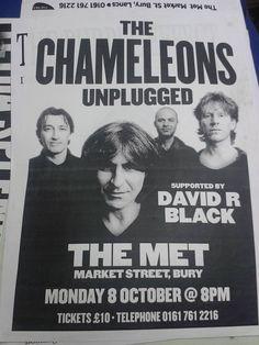 The Chameleons Unplugged - poster 2001