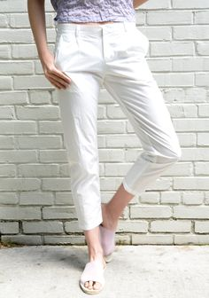 cotton lyric pant by atelier delphine for ss17