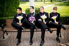 Guys with Flowers!!
