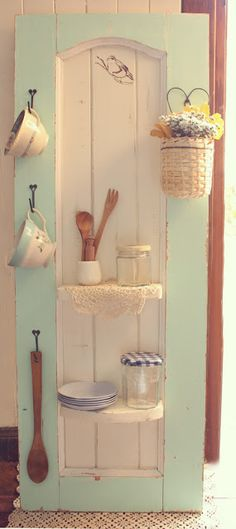 recycled door ♥