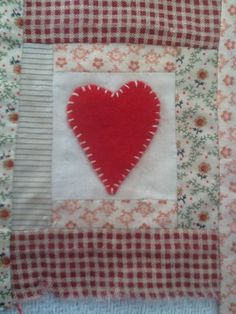 Country patchwork square
