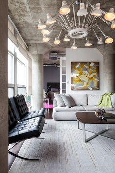 Pequeño Loft diseñado para gran impacto - http://www.decoracion2014.com/diseno-de-interiores/pequeno-loft-disenado-para-gran-impacto/