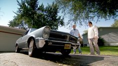 Mike Brewer Meets a '65 GTO | Wheeler Dealers Wheeler Dealers, Gto, Antique Cars, Classic Cars, Vintage Cars, Vintage Classic Cars, Classic Trucks