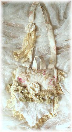 beautiful, lace bag