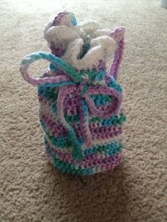 Girls Bag  Girls Purple and Blue Purse by MyStrawberryCupcake, $10.00