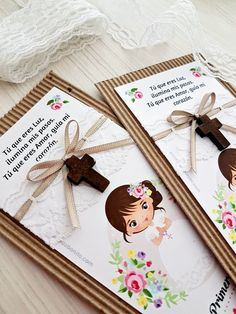 Original Communion Cards: More than 40 Easy and Beautiful Designs rnrnSource by karlanziani First Communion Cards, First Holy Communion, Holy Communion Dresses, Communion Party Favors, Communion Invitations, Diy Jewelry Inspiration, Art Party, Christening, Free To Use Images