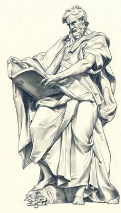 b the body art - Tattoos And Body Art Religious Tattoos, Religious Art, Drawing Sketches, Art Drawings, Sculpture Art, Sculptures, Statue Tattoo, Biblical Art, Desenho Tattoo
