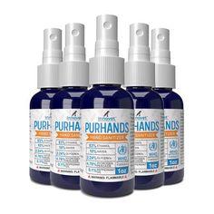 PurHands Hand Sanitizer *Free Shipping* | Innovet Pet Best Hand Sanitizer, Pet Urine, Tear Stains, Secret Life Of Pets, Dog Eyes, Teeth Cleaning, Pet Accessories, Spray Bottle, Vodka Bottle