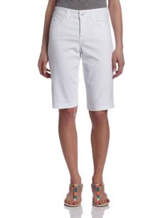 Save $46.05 on NYDJ Women's Petite Teresa Colored Denim Short; only $21.95