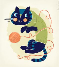 Woolly Cat | Linzie Hunter