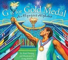 Top 5 Picks for great books about the Olympics, even a book written by olympic gold medal winner Michael Phelps made the list. Check it out! lesson plan links for some books listed
