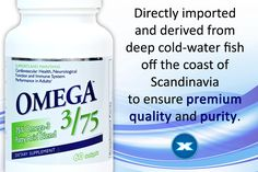 I love this brand of Omegas.  Quality ingredients!