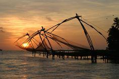 Chinese Fishing Nets, Kochi, India!