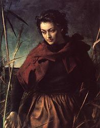 Pietro Annigoni (1910- 1988)   This reminds me of Sybil from Downton Abbey