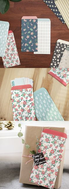 These adorable gift envelopes are perfect for love letters, favors, and cash gifts. ^.~*