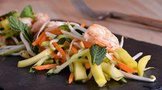 Ensalada vietnamita con encurtido de mango - Marta Yanci - Receta - Canal Cocina