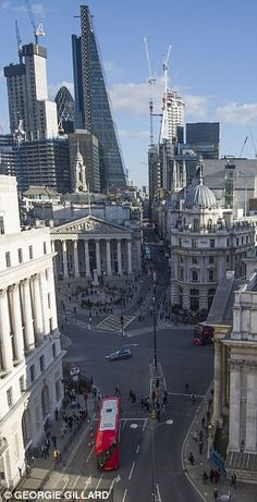 Restrictions have been imposed at Bank Junction – a six-way intersection in the heart of t...