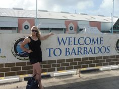 Arriving on the beautiful Island Barbados  see my weekly Giveaways & antics on https://www.youtube.com/user/halloweenpropsuk?sub_confirmation=1