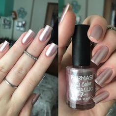 Makeup Designs, Nail Art Designs, Nude Nails, My Nails, Nail Paint Shades, Farmasi Cosmetics, Makeup Spray, Nail Supply, Nail Polish Colors