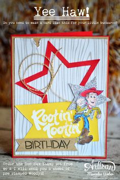 New set from Stampin Up - Yee Haw! | Creations by Mercedes Weber