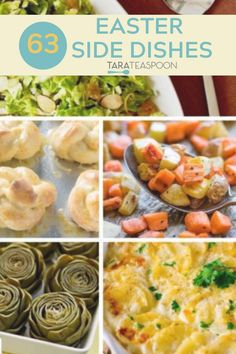 Easter Side Dishes, Dinner Side Dishes, Best Side Dishes, Dinner Sides, Healthy Side Dishes, Side Dish Recipes, Healthy Sides, Healthy Dinner Recipes, Meal Recipes