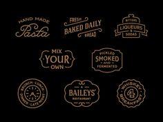50+ delicious Restaurant logo design for inspiration - DesignMain.com