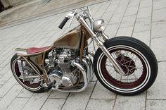 1973 Honda CB500 Bobber Motorcycle - 2