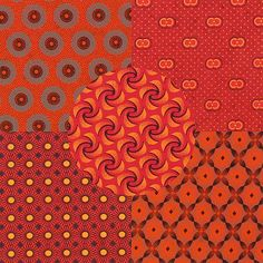 Photo for Shwe Shwe Adventure Pumpkin/Red African Fabric, Image Shows, African Fashion, Pumpkin, Colours, Adventure, Kitchen, Red, Christmas