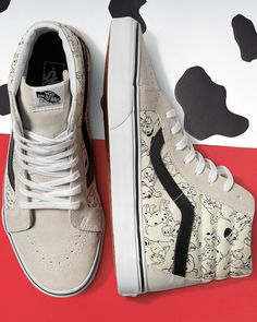 Black and white never looked so adorable. The Disney and Vans collection featuring 101 Dalmatians is now available.