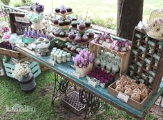 www.kamalion.com.mx - Mesa de Dulces / Candy Bar / Postres / Vintage / Wedding…