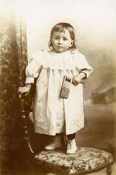 Young Boy Rattle Toy France Montelimar Old CDV Photo 1880