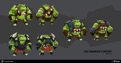 Orcs & Goblins, Christoph Kaplan on ArtStation at https://www.artstation.com/artwork/orcs-goblins