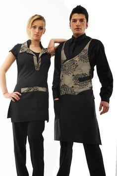 Black dress uniform za