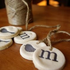 Salt Dough Ornaments & Gift Tags