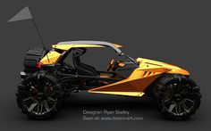 Eco Cars: All-electric Bowler Raptor is a green way to find new roads - Ecofriend Concept Motorcycles, Cars And Motorcycles, Atv Car, Karts, Trophy Truck, Vw Vintage, Lifted Cars, Futuristic Cars, Go Kart