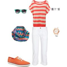 Summer Fun, created by robin-brzezinski-flores on Polyvore