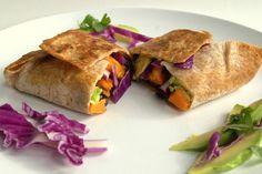 Vegan Sweet Potato & Fennel Burrito  Looks good...I am pinning this for someday