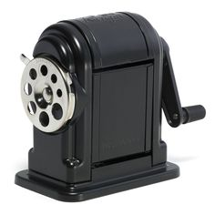 Amazon.com : X-Acto Ranger 55 Table- or Wall-Mount Heavy-Duty Pencil Sharpener, Black, 1 Unit (1001) : Office Products