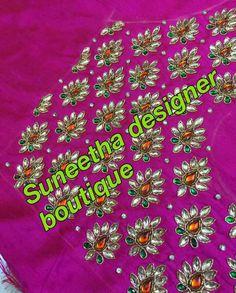 Kundan embroidery