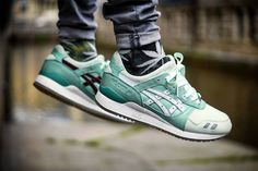Highs and Lows x Asics Gel Lyte III Silver Screen (by Manuel Rehn)